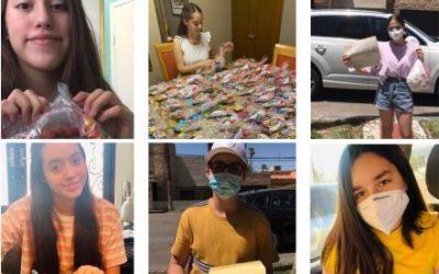 Teens Mexicali TSM, Jóvenes apoyando en tiempos de pandemia – América Alvárez de Galván