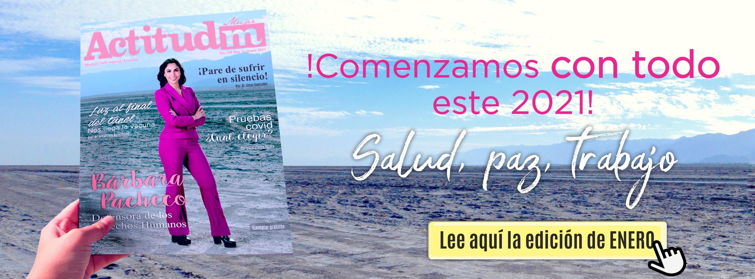 Revista Actitud M - Enero 2021