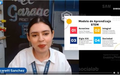 """Joven de El Garage participa en """"Solve for Tomorrow"""" – Laura Solís"""